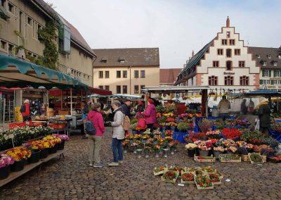 Wochenmarkt am Kornhaus