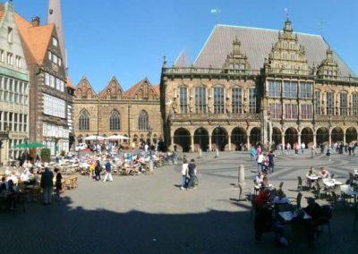 Bremer Marktplatzpanorama