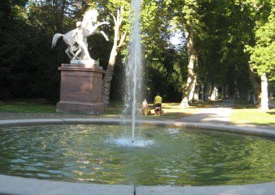 Stuttgart - Rossebändiger im Unteren Schlossgarten